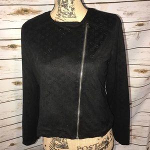 Girls 14-16 Justice Brand ZIP up Jacket